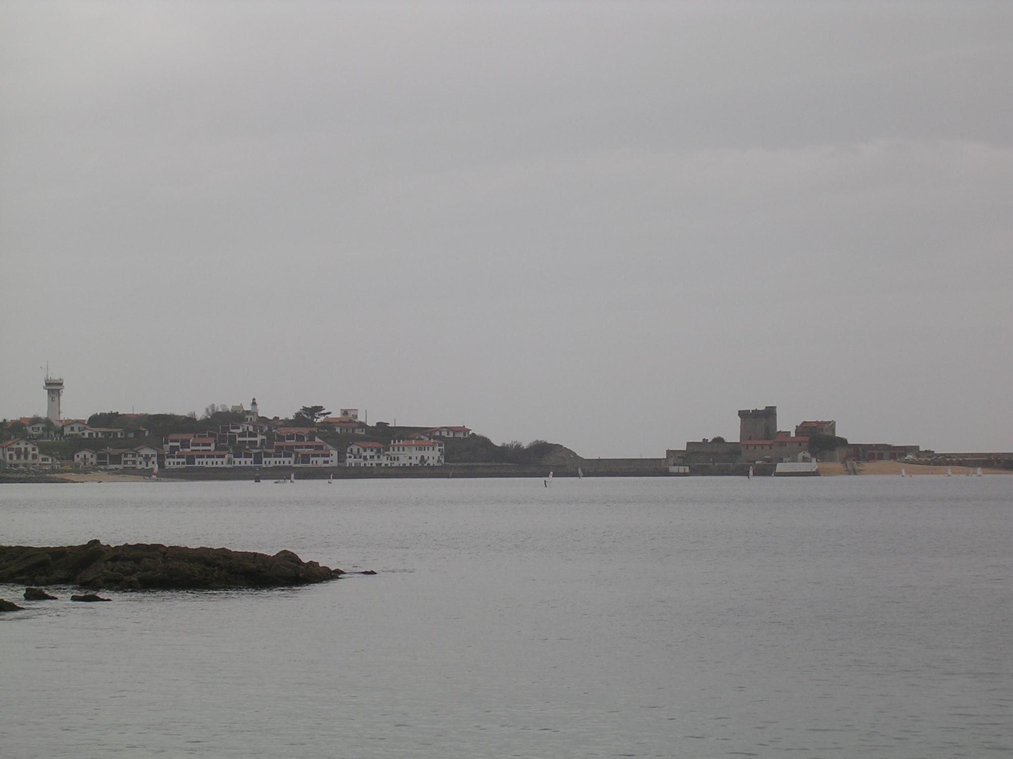 Sokoa y su castillo desde Ziburu