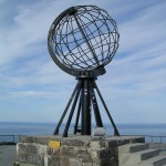 The Globe. North Cape, Norway