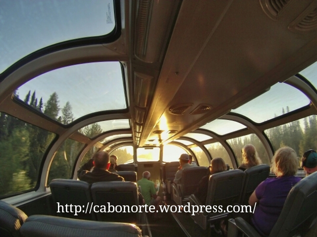 O vagón panorámico