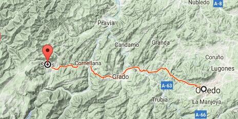 Etapa Oviedo - Salas