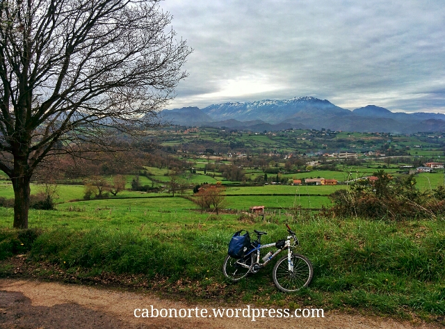 O Camiño preto de Oviedo