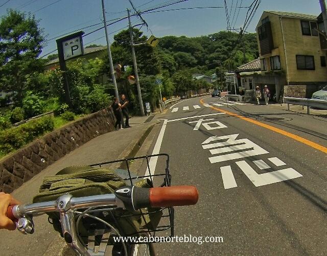 En bici por Kamakura