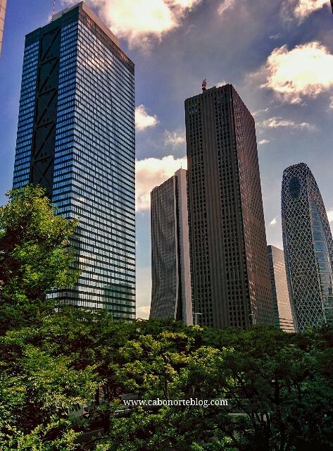Rascacielos en Tokio