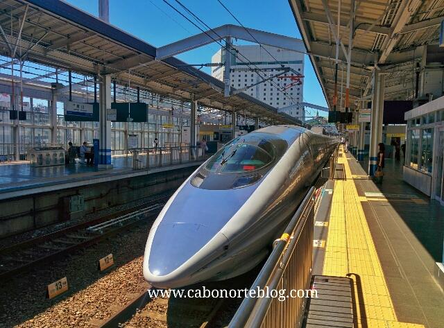 El tren bala también está incluido en el Japan Rail Pass