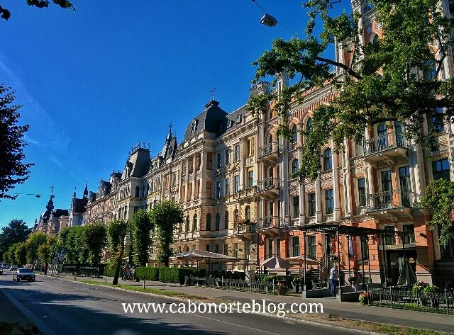Edificios art nouveau en Riga