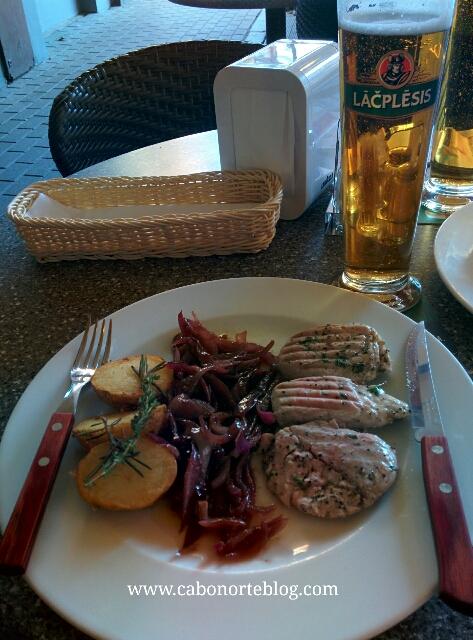 Comida en Riga