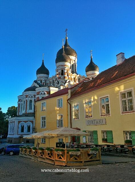 Ciudad Alta, con la Catedral Ortodoxa al fondo