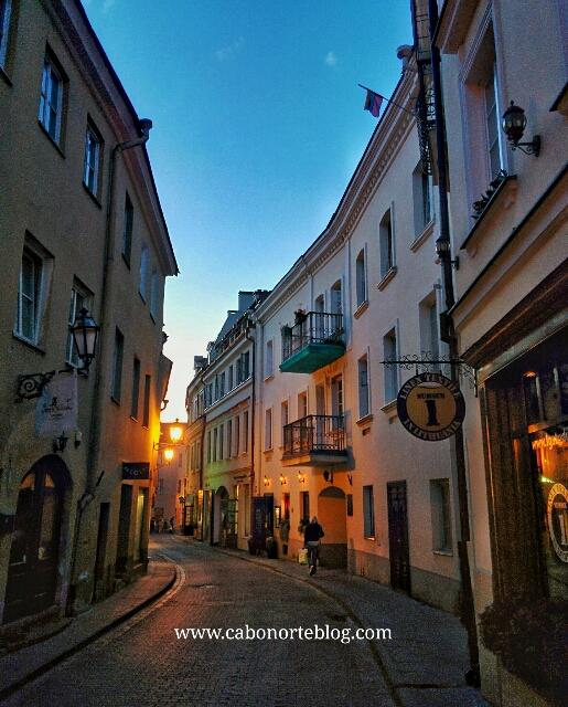 Calle en Vilna