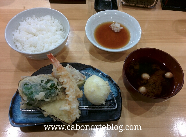 tempura, comida japonesa, japon