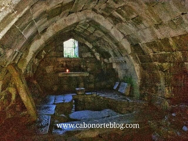 cripta, augas santas, allariz, ourense, galiza