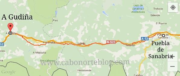 Camino de Santiago, Camino Sanabrés, Puebla de Sanabria, A Gudiña