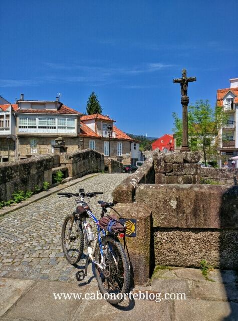 El Camino Portugués en Caldas de Reis
