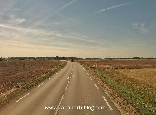 Carretera en Lituania