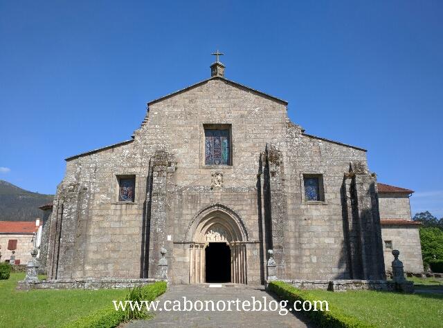 Iglesia de Santa María de Iria Flavia. padron, camino de santiago, camino portugues