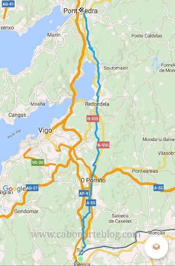 Etapa Tui - Pontevedra