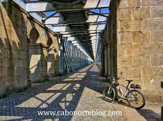 Puente Internacional sobre el Río Miño, camino portugues, tui, valença do minho
