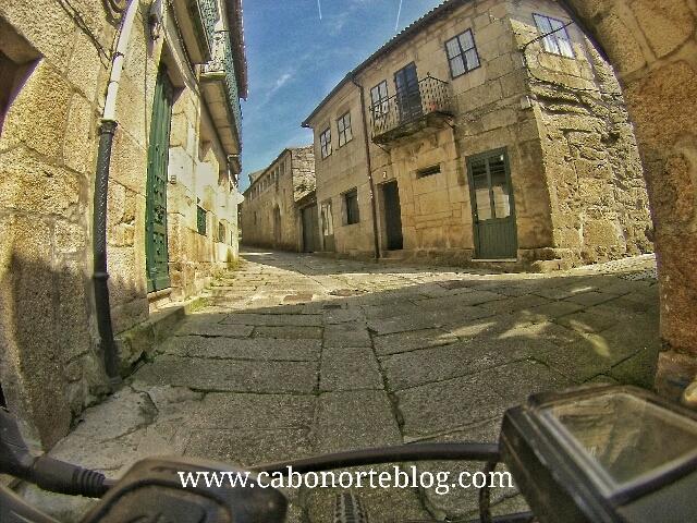 El Camino Portugués por el casco histórico de Tui