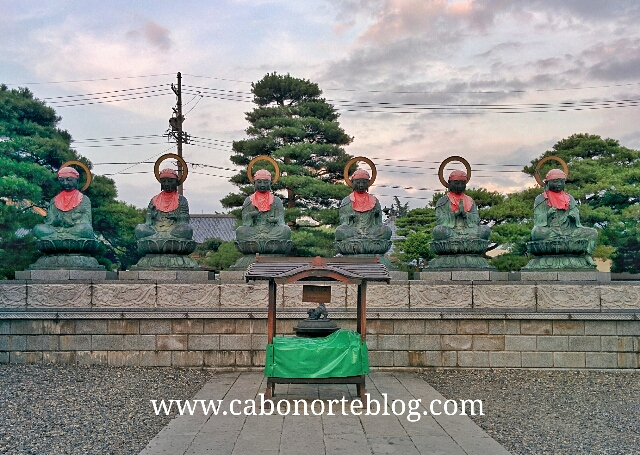 templo, nagano, japón, japon