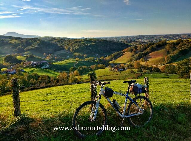 En bici por el Iparralde, bici, iparralde