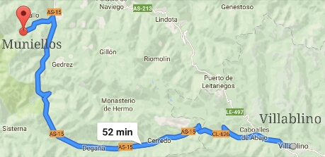 Ruta desde Villablino