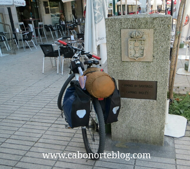camino de santiago, camino inglés, ferrol, bici, bicigrino