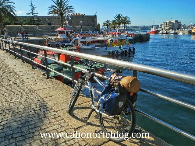 camino ingles, ferrol, bici, bicigrino