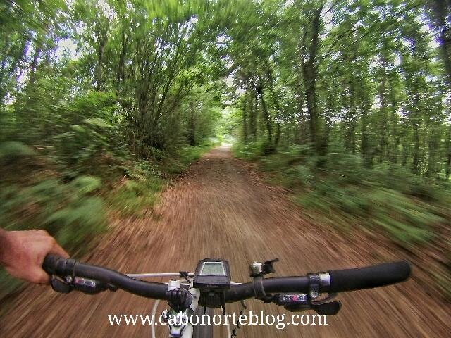 En bici por el Camino Inglés
