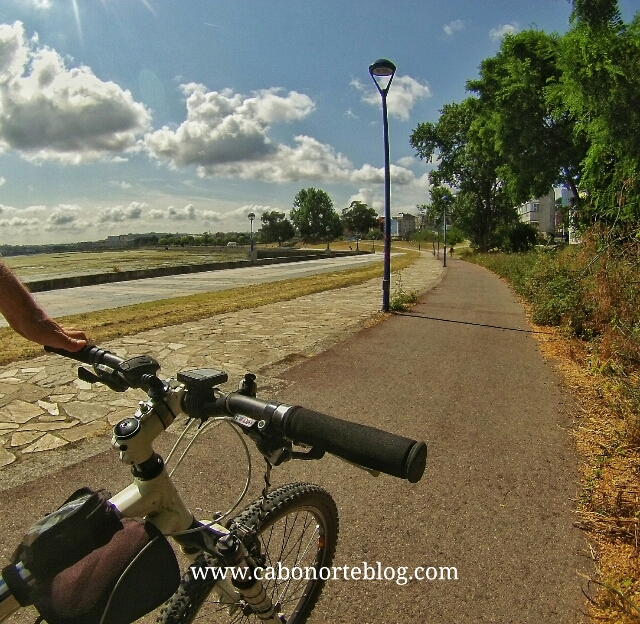 camino ingles, o burgo, a coruña, bici