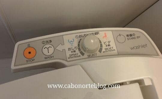 Ir la baño en Japón es toda un experiencia con la tecnología
