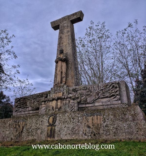 Monumento a Loriga, na Vila de Lalín
