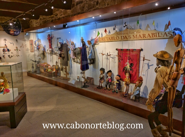 Museo da Marioneta no Pazo de Liñares