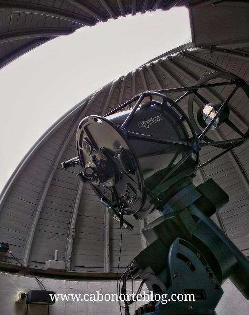 Telescopio de Ramón Aller Lalin