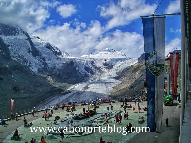 Glaciar Franz Josef en la carretera Grossglockner