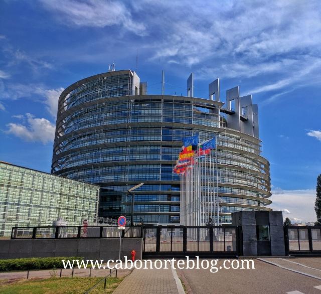 Parlamento Europeo en Estrasburgo, Francia