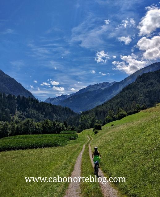 bici, pitztal, austria