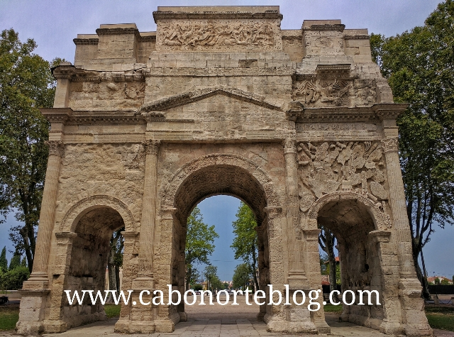 Arco romano de Orange (Francia)
