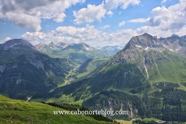Montañas del Tirol, austria