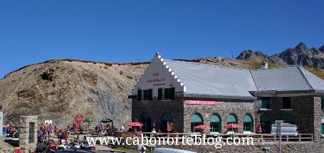 Bar - Restaurante en el alto del Tourmalet