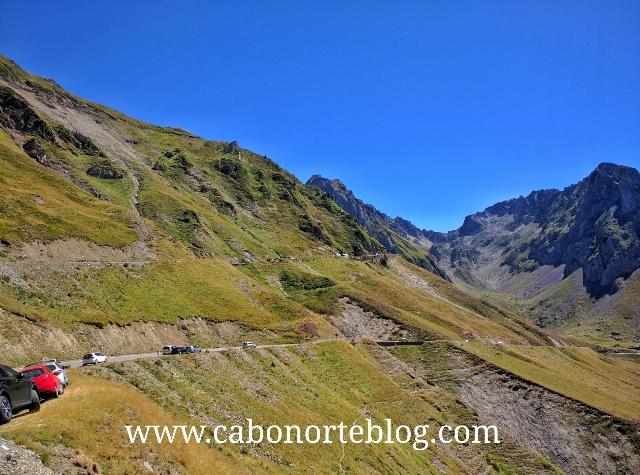 Ultimos kilómetros a la cima del Tourmalet
