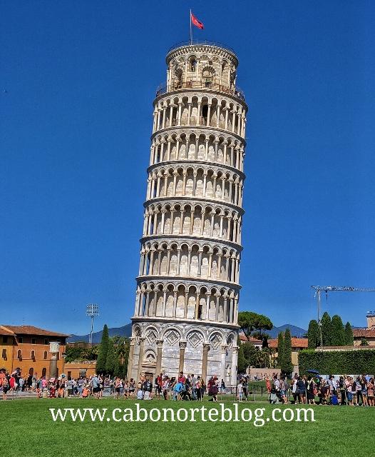 Torre de Pisa, toscana, italia