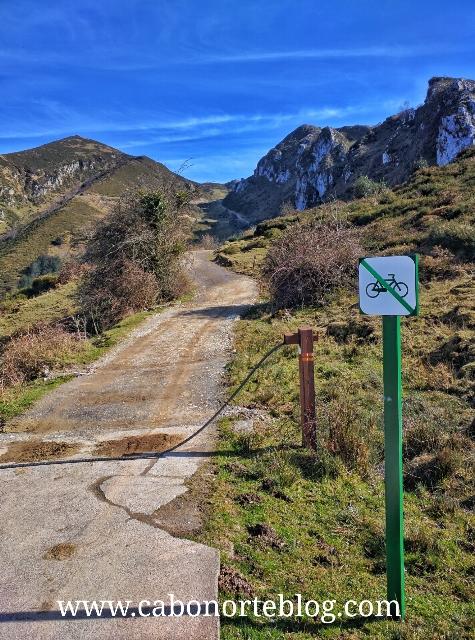 Prohibición de bicicletas en algunos caminos del Parque Nacional, picos de europa
