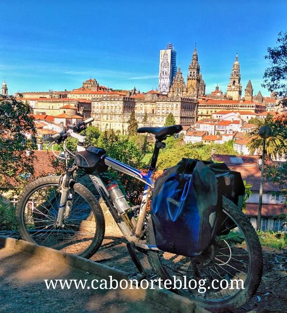 Compostela, bici
