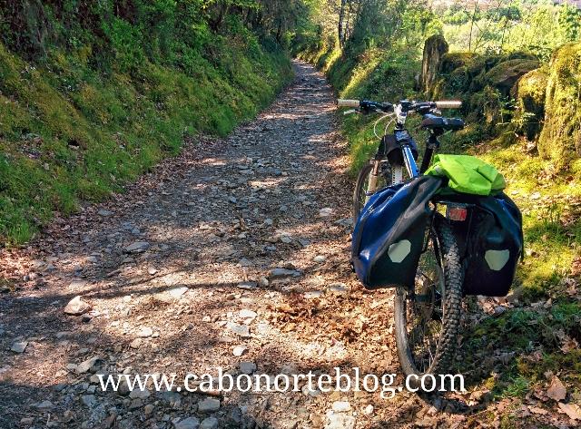 Camino de Santiago, Camino Francés, bici, btt