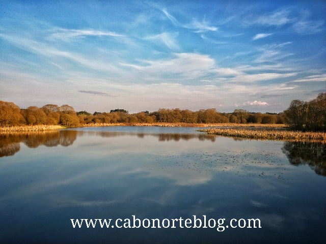 A Lagoa de Cospeito, Lugo, terra cha