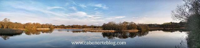 Lagoa de cospeito, lugo, terra cha