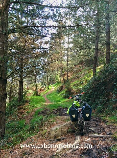 En bici por el Camino de Santiago Primitivo