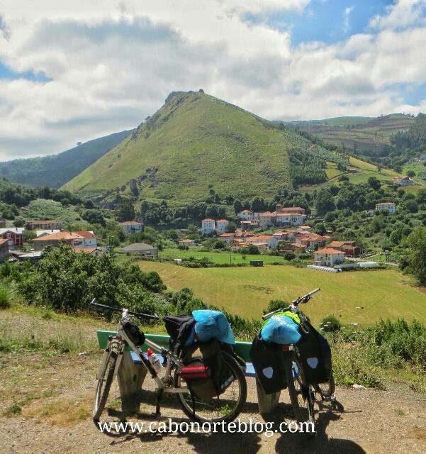 bicis, camino de santiago, camino del norte