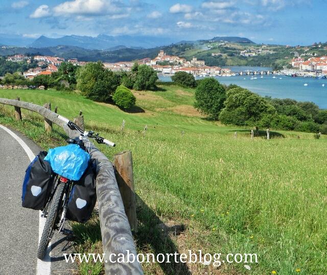 San Vicente de la Barquera, camino de santiago, camino del norte, bici, bicigrino