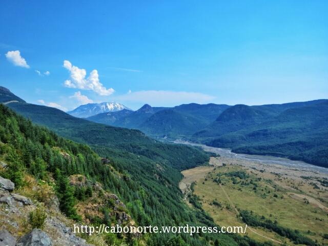 Valle del North Fork Toutle River