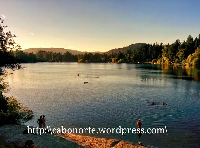 Lago en Victoria